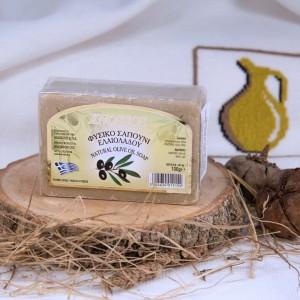Натуральное оливковое мыло БЕЛОЕ Knossos, 100г