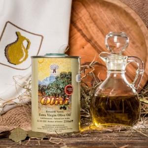 Оливковое масло фермерское Olivi, жест.банка, 250мл